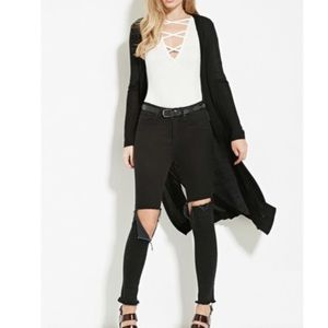 Tops - Chic Button Duster Top 🎁
